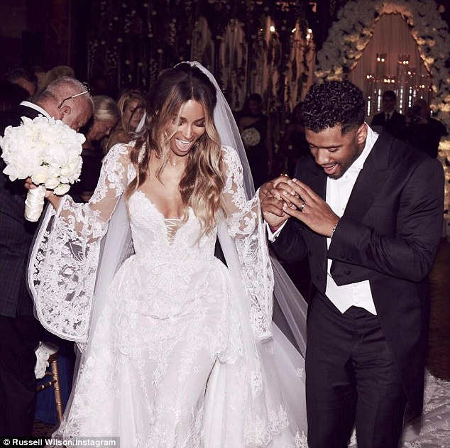 ciara-russel wilson-mariage-uk