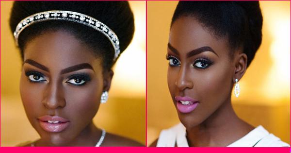 coiffure de mariée- femme noire et métisse