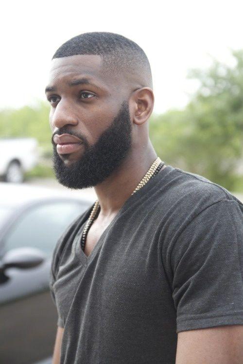 coupe césar homme noir