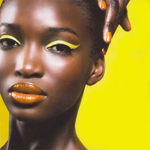 maquillage jaune peau noire