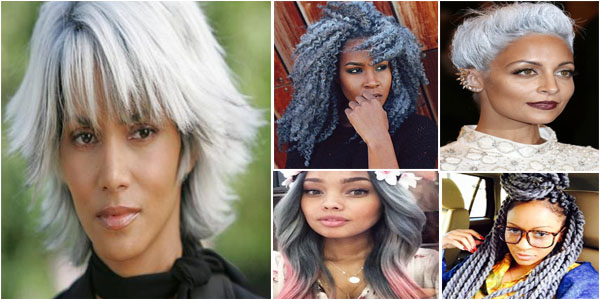Gray Hairstyles On Black Women Afroculture Net