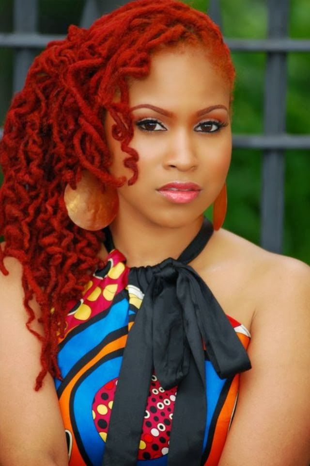 coiffure-tresse-africaine-cheveux-rouges