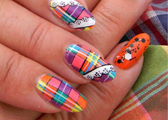 madras-nail-art