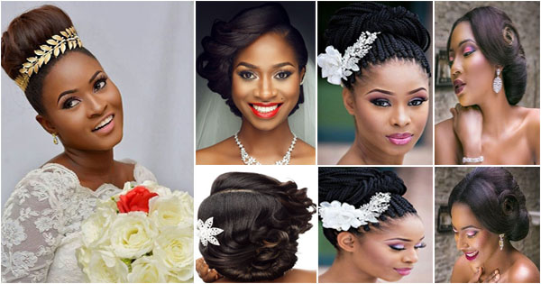 10 Black Women S Bridal Hairstyles Black Hair Afroculture Net