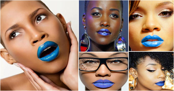 rouge-a-levres-bleu-blue-lipstick-black-girl