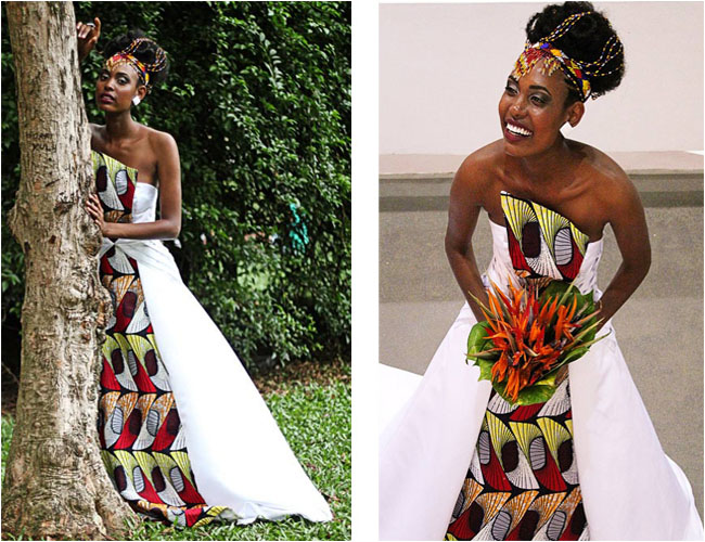 Mariage africain : 17 robes de mariée en