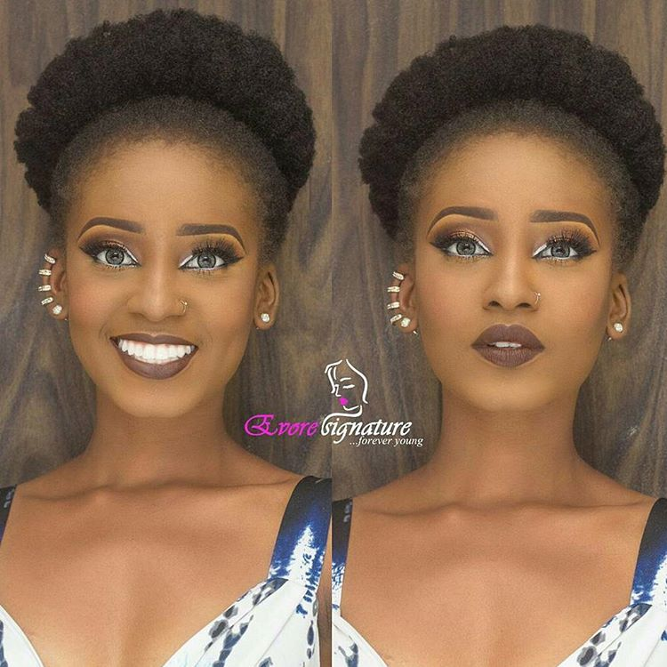 Afro Puff Quick Hairstyle For Black Women Afroculture Net