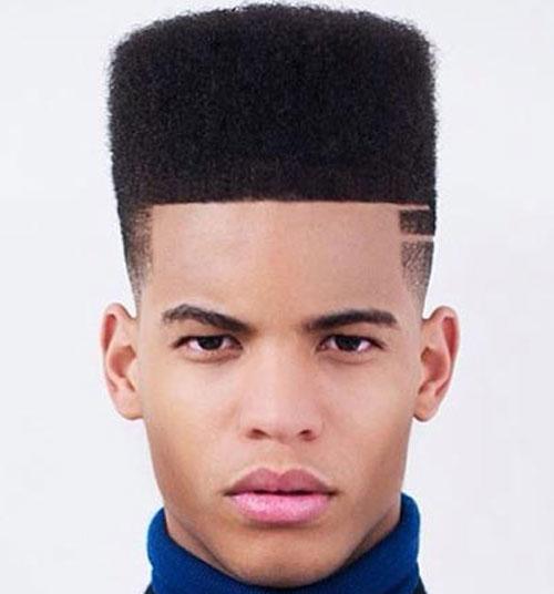 black-men-hairstyles-flat-top