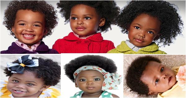 coupe afro pour bébés noirs et métis de 0 à 36 mois