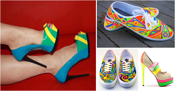 chaussures-colorees-femmes-talons-ballerines-colores