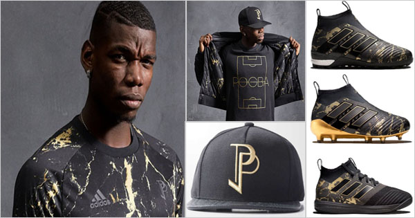 Paul Pogba and Adidas present capsule collection 2017