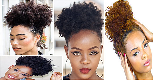 Afro Puff Coiffure Tendance Femme Noire Metisse Afroculture Net