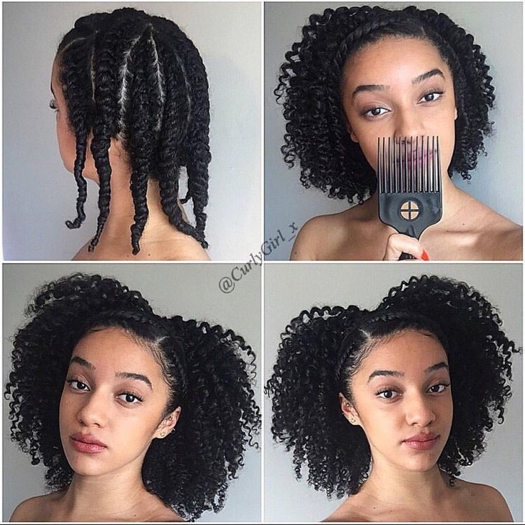 Braid Out How To Have Natural Curly Hair Black Biracial Hair Afroculture Net