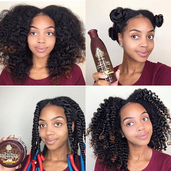How to make a Twist out to curl your hair? \u2013 Afroculture.net