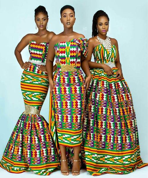 Vintage Wedding Dresses For Sale South Africa: Elegant & Glamorous African Wedding Dresses In Kente