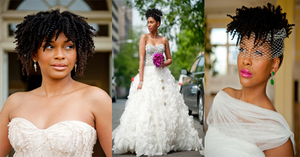 Wedding To Be Beautiful With Your Natural Hairstyles Black