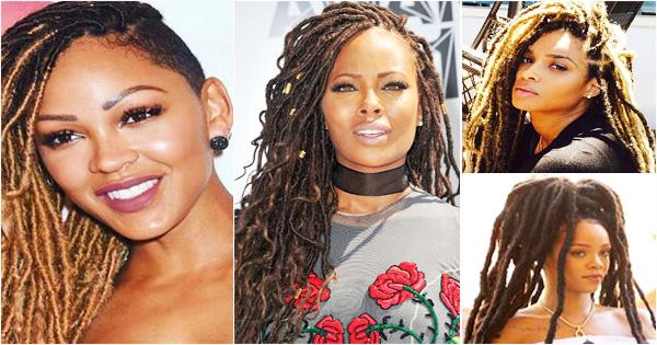 Celebrities Who Wear Stunning Faux Locs