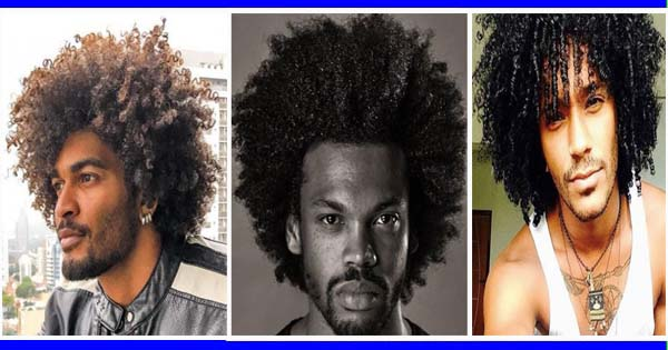 Curly Haircut For Black Men Afroculture Net