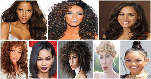 16 Hairstyles For Mixed Women Biracial Hair Afroculture Net