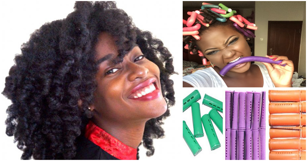 Strange Using Flexi Rods To Obtain Voluminous Curls Afroculture Net Natural Hairstyles Runnerswayorg