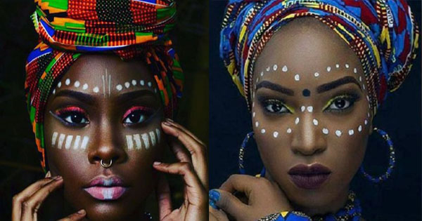 African Tribal Makeup Africa Beauty