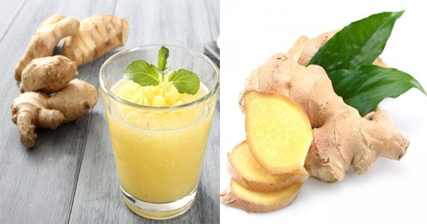 11 beneficios del jugo de jengibre |  Bebida exótica - Afroculture.net